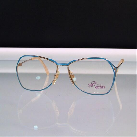 Eyeglasses Frames Metzler Germany Signee Vintage 1