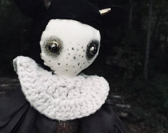 Heirloom Cloth Art Doll by Azalea Ogden