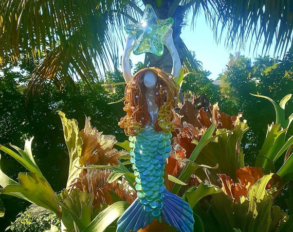 Mermaid tree topper