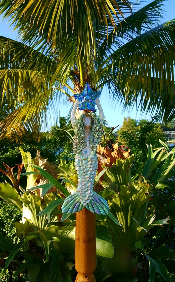 Rainbow Mermaid Tree Topper