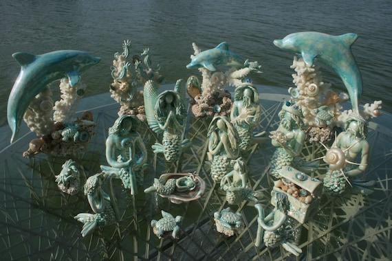 Nautical Nativity Scence