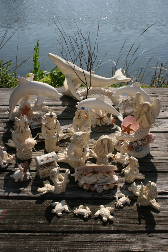 Nautical Nativity Scence