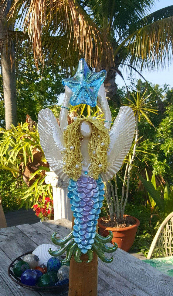 Angel Mermaid Tree Topper