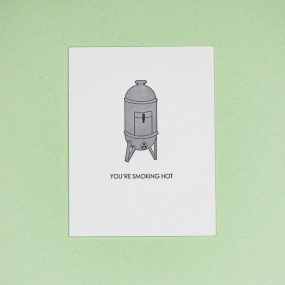 Smoking Hot Card