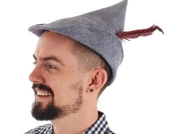 1fdcf61a4c5 Men s Oktoberfest Gray Costume Hat