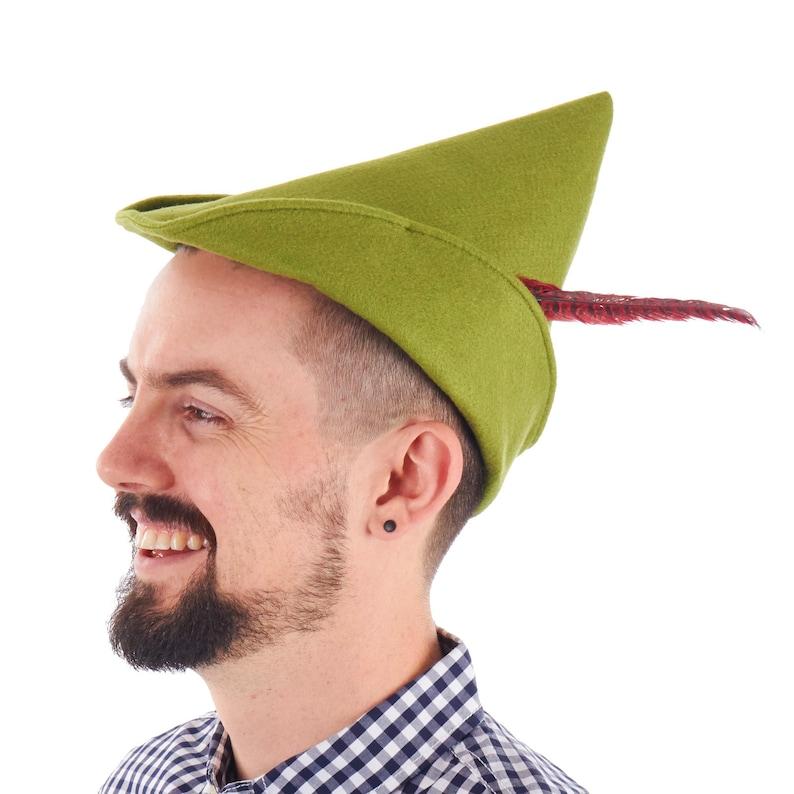Herren Oktoberfest Peter Pan Robin Hood Grünen Kostüm Hut Etsy