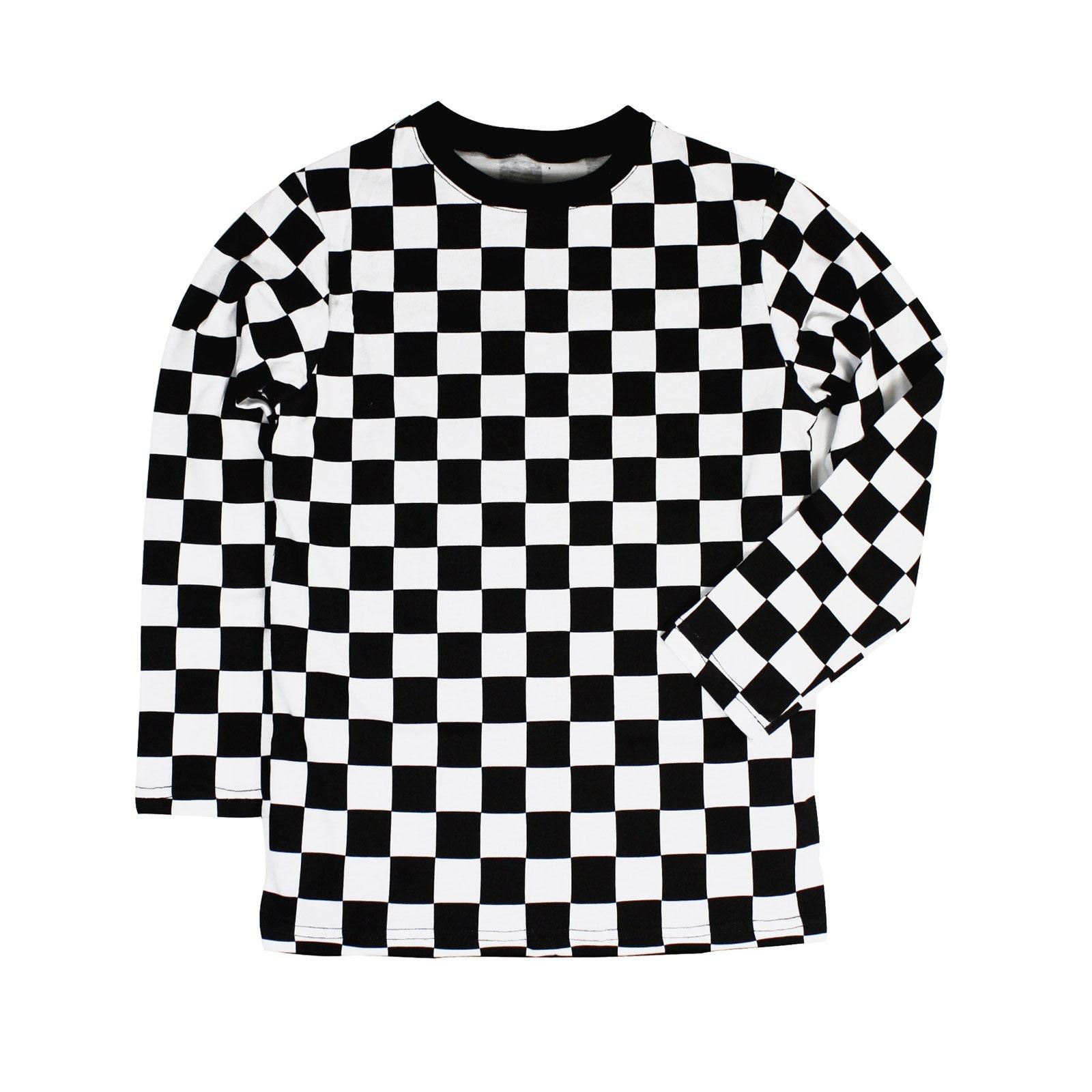 Black And White Checkered Shirts Dreamworks