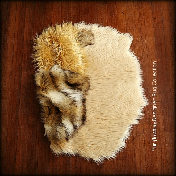 Washable Sheepskin Rugs For Dogs: Faux Fur Sheepskin Throw Rug Shaggy Soft Thick Dog