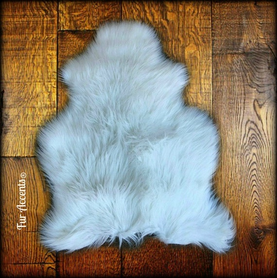 Faux Fur Sheepskin Rug Bohemian Style Sheep Skin Shaggy