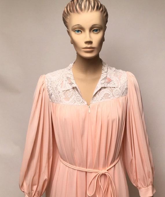 Lucie Ann Peignoir Robe Nightgown Set Claire Sand… - image 6