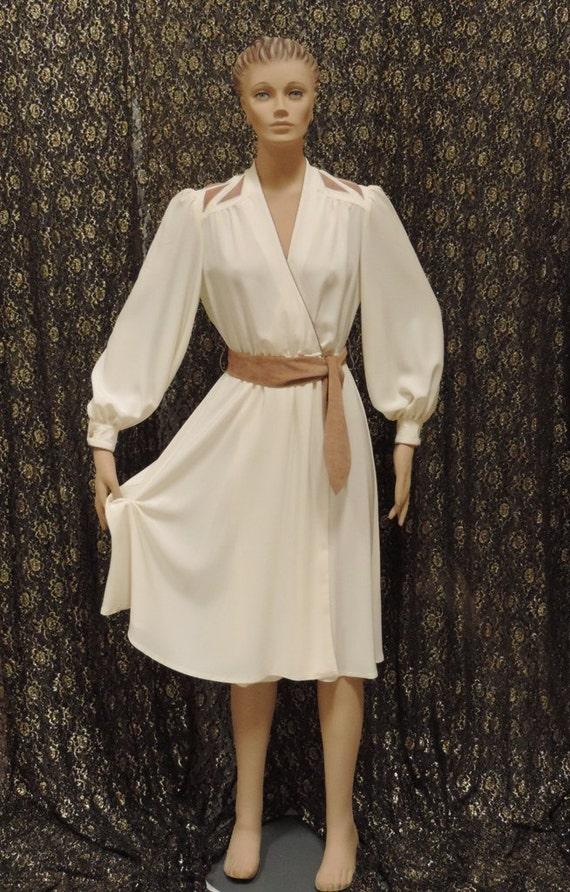 Lilli Ann Wrap Dress Adolph Schuman - image 3