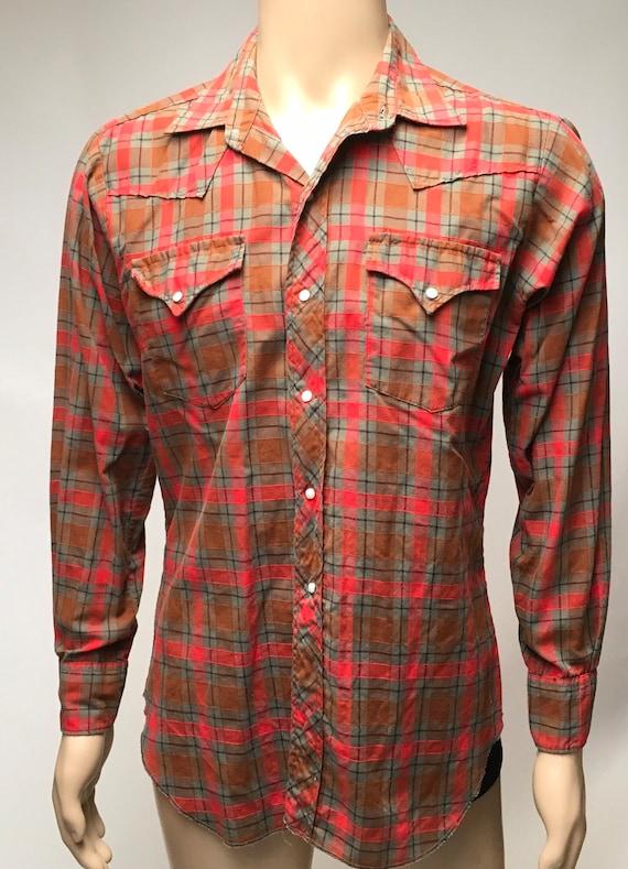 1950s Levis Big E Western Wear Shirt