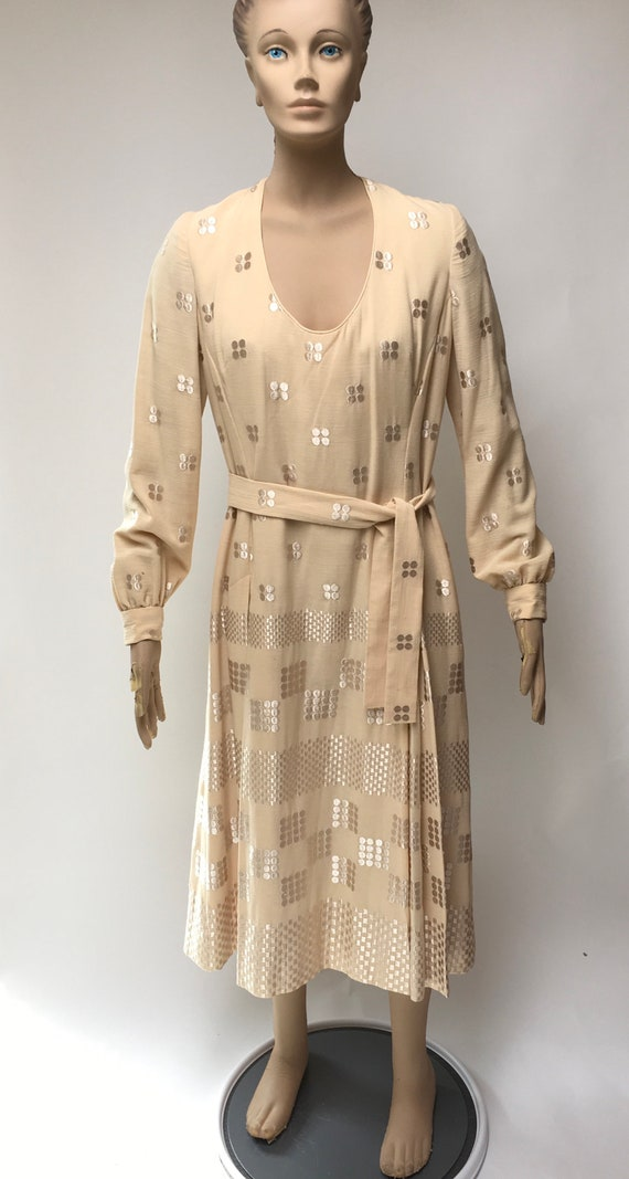 Volup Embroidered Dress Michael Novarese Modesty B