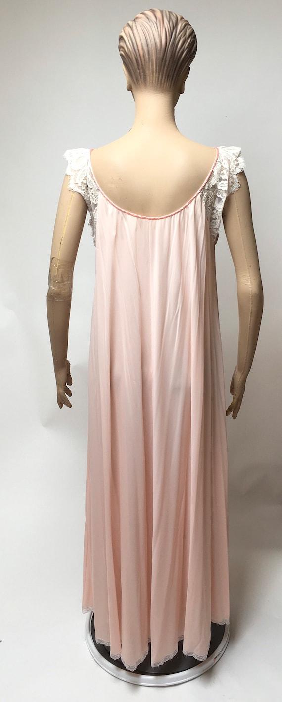 Lucie Ann Peignoir Robe Nightgown Set Claire Sand… - image 5