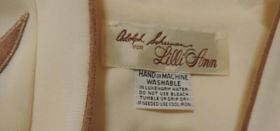 Lilli Ann Wrap Dress Adolph Schuman - image 5