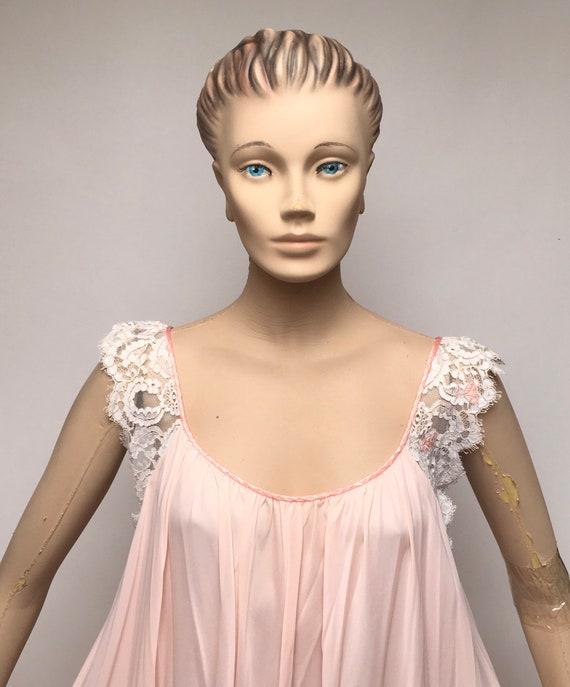Lucie Ann Peignoir Robe Nightgown Set Claire Sand… - image 8