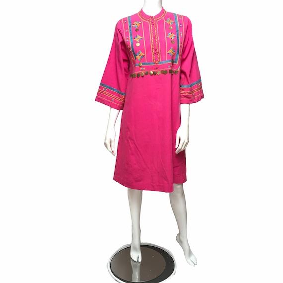 Josefa Mexico Dress Embroidered