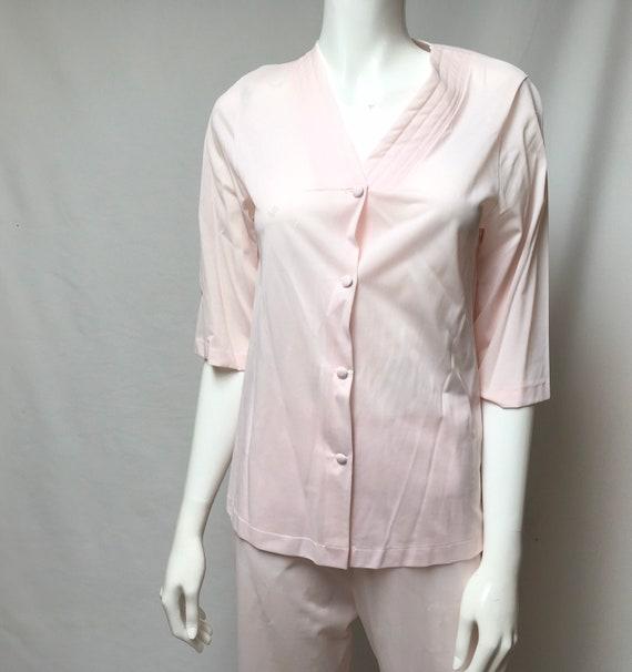 Pink Pajamas and Robe Henson Kickernick Nylon Lou… - image 7