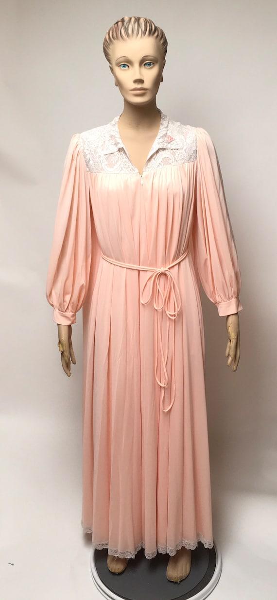 Lucie Ann Peignoir Robe Nightgown Set Claire Sandr