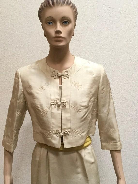 Wiggle Dress Bolero Jacket by Carlye