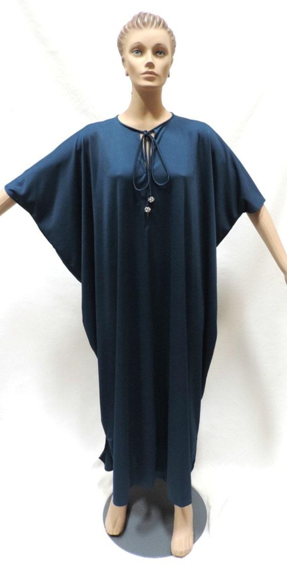 Lucie Ann Caftan Loungewear Hostess Gown Maxi Dres