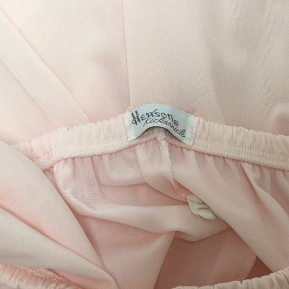 Pink Pajamas and Robe Henson Kickernick Nylon Lou… - image 9