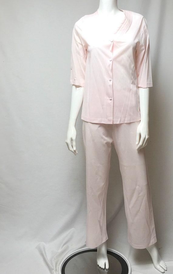 Pink Pajamas and Robe Henson Kickernick Nylon Lou… - image 4