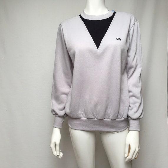 1970s Oscar DeLa Renta Acrylic Sweatshirt