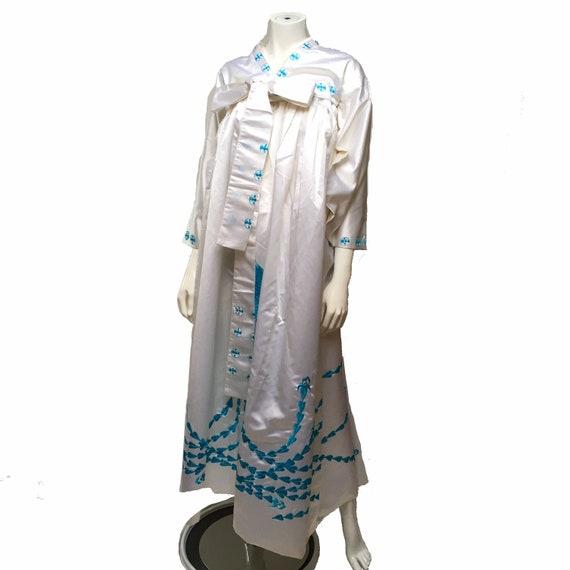 Korean Hanbok Dress Traditional Ethnic Vintage