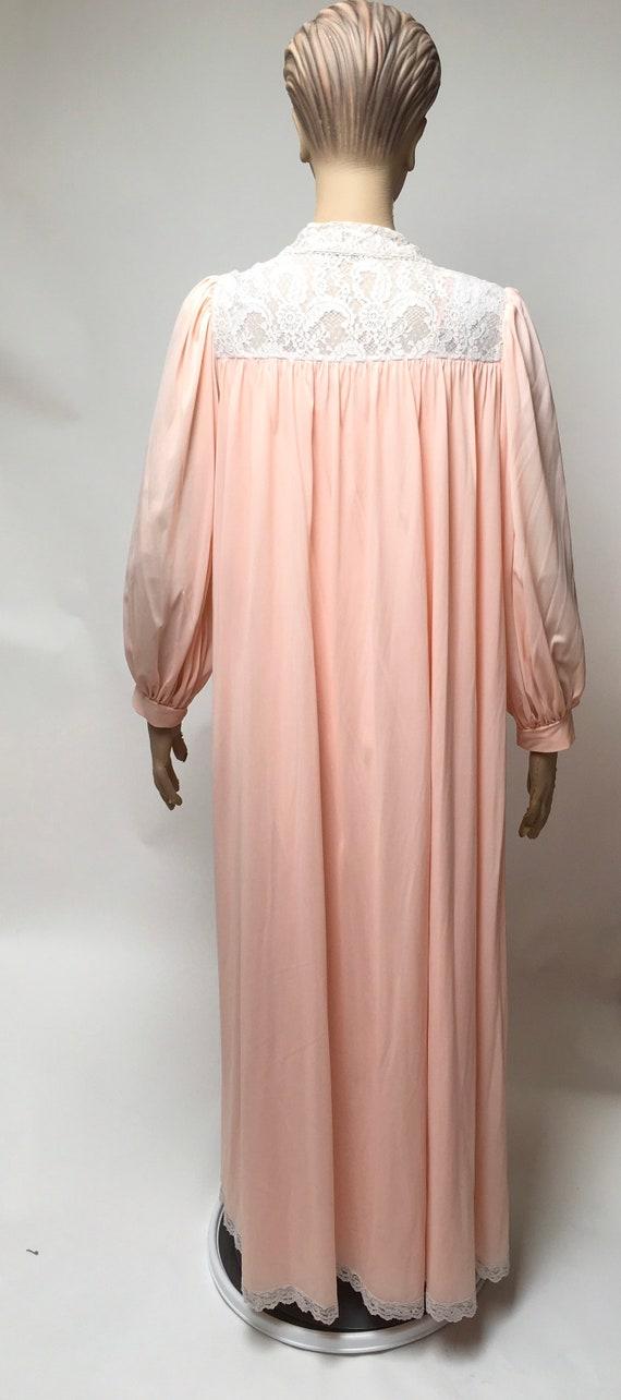 Lucie Ann Peignoir Robe Nightgown Set Claire Sand… - image 2
