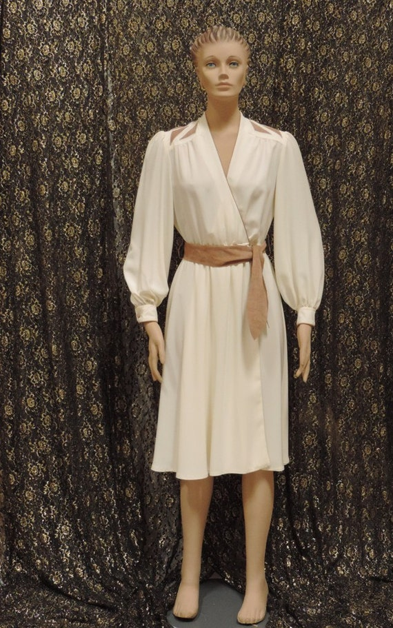 Lilli Ann Wrap Dress Adolph Schuman - image 2