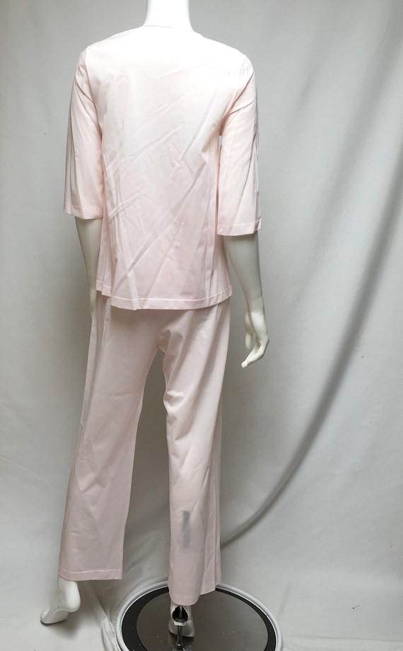 Pink Pajamas and Robe Henson Kickernick Nylon Lou… - image 5