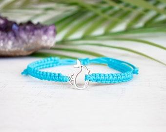 Whale bracelet, Friendship bracelet, Bracelet for woman, Nautical Gift, Gift for her, Handmade bracelet, Ocean gift