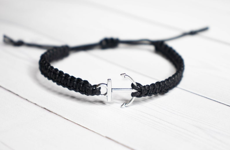 Anchor Bracelet Jewelry Navy Wife Nautical Bracelet Sailor image 0