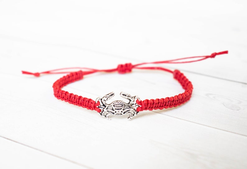 Crab Bracelet Sea Life Beach Charms Cruise Nautical Jewelry image 0