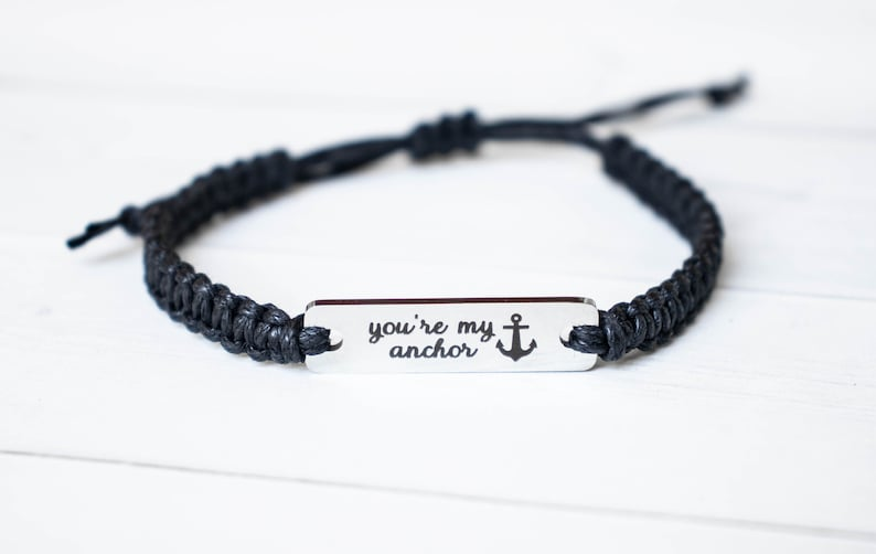 You're My Anchor Bracelet Valentines Day Gift Love image 0