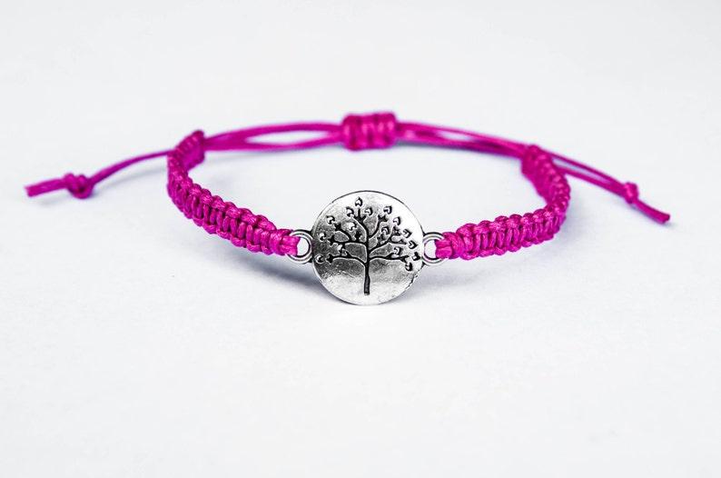 Tree Bracelet Heart Branches Gift for Women for Her image 0