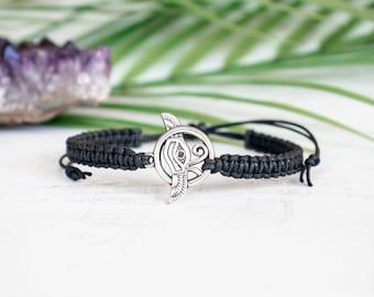Eye of Horus Wings Bracelet, Egyptian Bracelet, Yoga Bracelet,  Meditation Bracelet,  Om Jewelry, Zen, Enlighten, Spiritual Jewelry