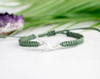 Dinosaur Bracelet Double Sided - Dinosaur Jewelry, Dino Bracelet, Animal Jewelry, Animal Gift, Dinosaur Gift