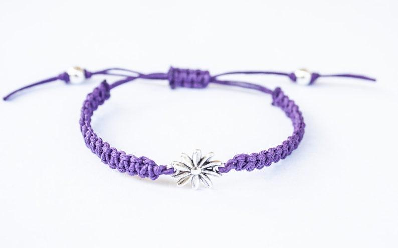 Flower Bracelet Mother's Day Gift Friendship Bracelet image 0