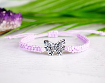 Detailed Butterfly Bracelet - Butterfly Jewelry, Gift for Women or Men, Animal Jewelry, Whimsical Jewelry, Fairytale Gift