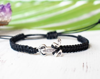 Frog Bracelet, Nature Jewelry, Frog Gift, Accessories for Women or Men, Gift for Her or Him, Outdoors Braclet