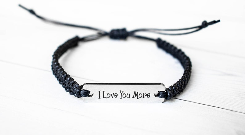 I Love You More Bracelet Love Jewelry Inspiration Gift image 0