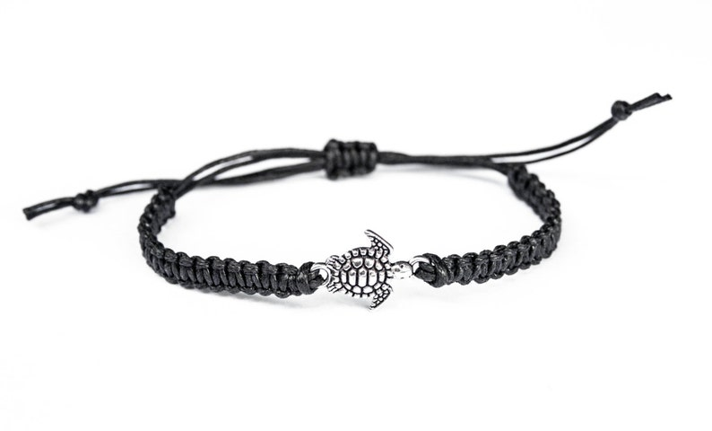 Turtle Bracelet Sealife Jewelry Wildlife Gift Girlfriend image 0