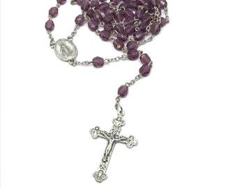 Birthstone Rosary Choose your Color