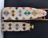RESERVED for T - Vintage Kids Ironing Boards - Childrens Ironing Boards - Quilted Covers - Vintage Toys - Set of 2