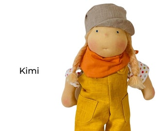 Kimi - cloth doll after Waldorfart