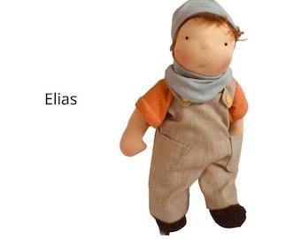 Elias - Waldorf doll - style