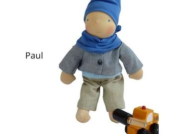 Paul- Waldorf doll - style