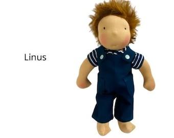 Linus - little cloth doll for boys - or girls